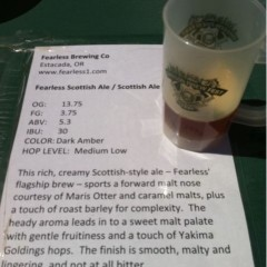 148. Fearless Brewing – Fearless Scottish Ale Draft