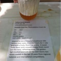 147. Pelican Pub & Brewery – Kiwanda Cream Ale Draft
