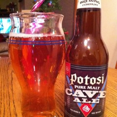 233. Potosi Brewing – Pure Malt Cave Ale