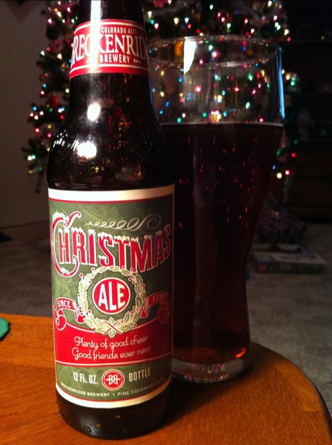 Breckenridge Brewery Christmas Ale