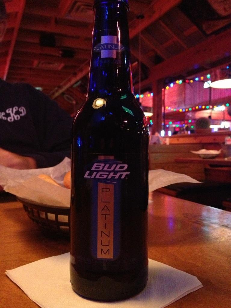 499. Anheuser Busch InBev - Bud Light Platinum