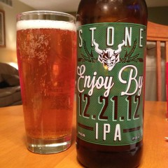 501. Stone Brewing Co. – Stone Enjoy By 12.21.12 IPA