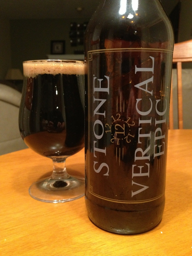 526. Stone Brewing - 12.12.12 Vertical Epic Ale