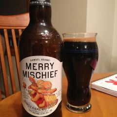 528. Samuel Adams – Merry Mischief Gingerbread Stout