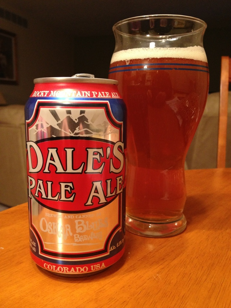 530. Oskar Blues Brewery - Dale's Pale Ale