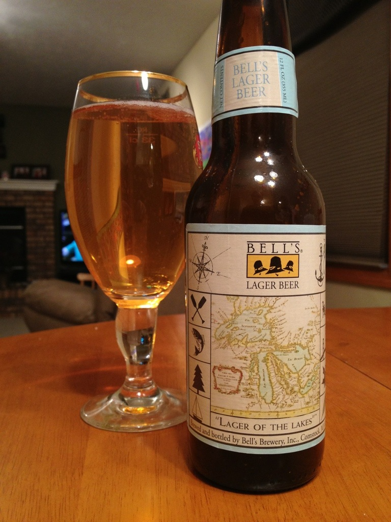 558. Bell's Brewery - Lager of the Lakes