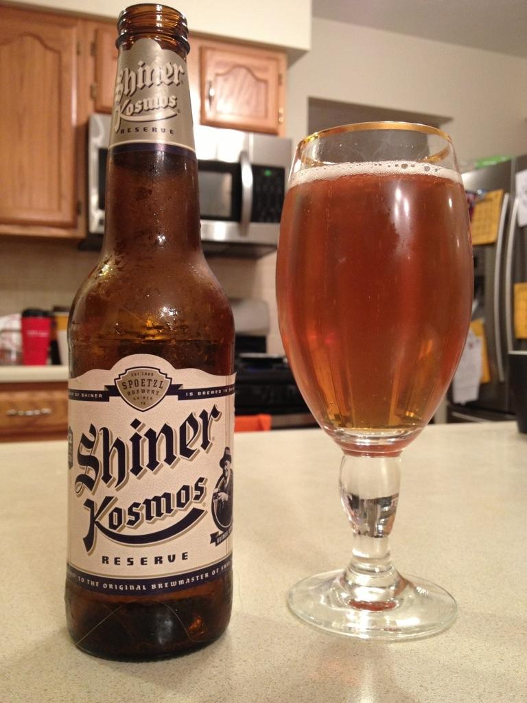 597. Spoetzl Brewery - Shiner Kosmos Reserve