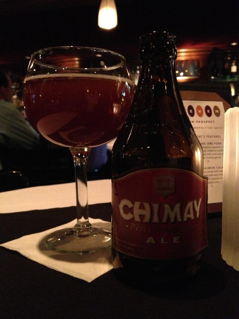 602. Bières de Chimay – Chimay Rouge Première
