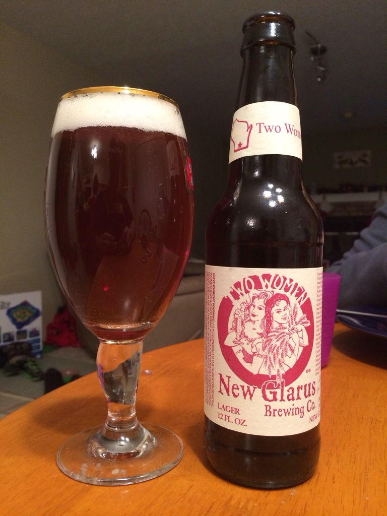 629. New Glarus Brewing - Two Women Lager