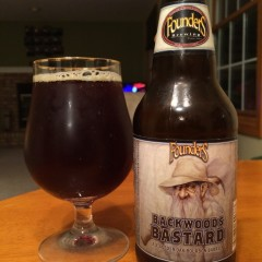 258. Founders Brewing – Backwoods Bastard Rereviewed