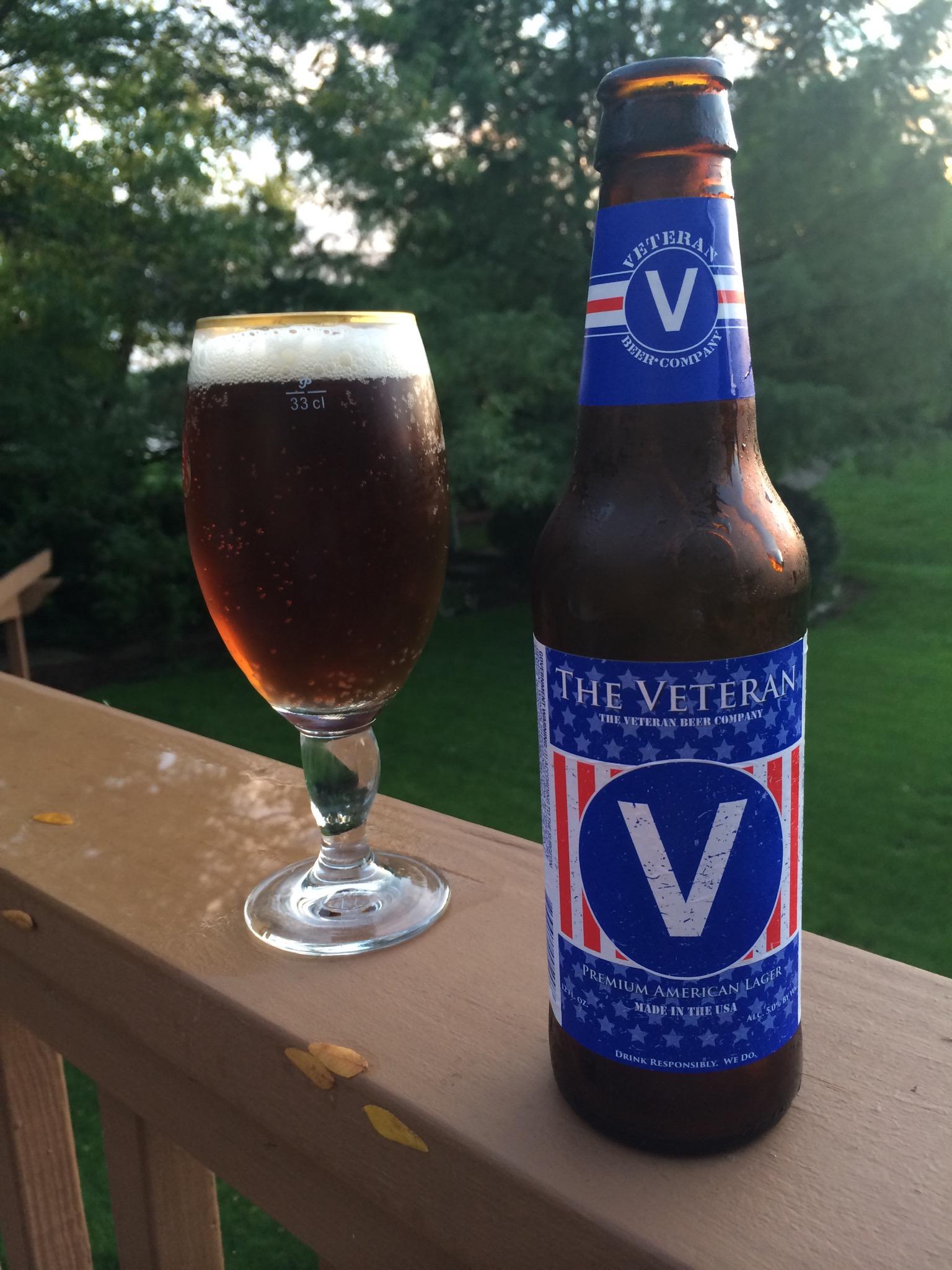 728. The Veteran Beer Co. - The Veteran Premium American Lager