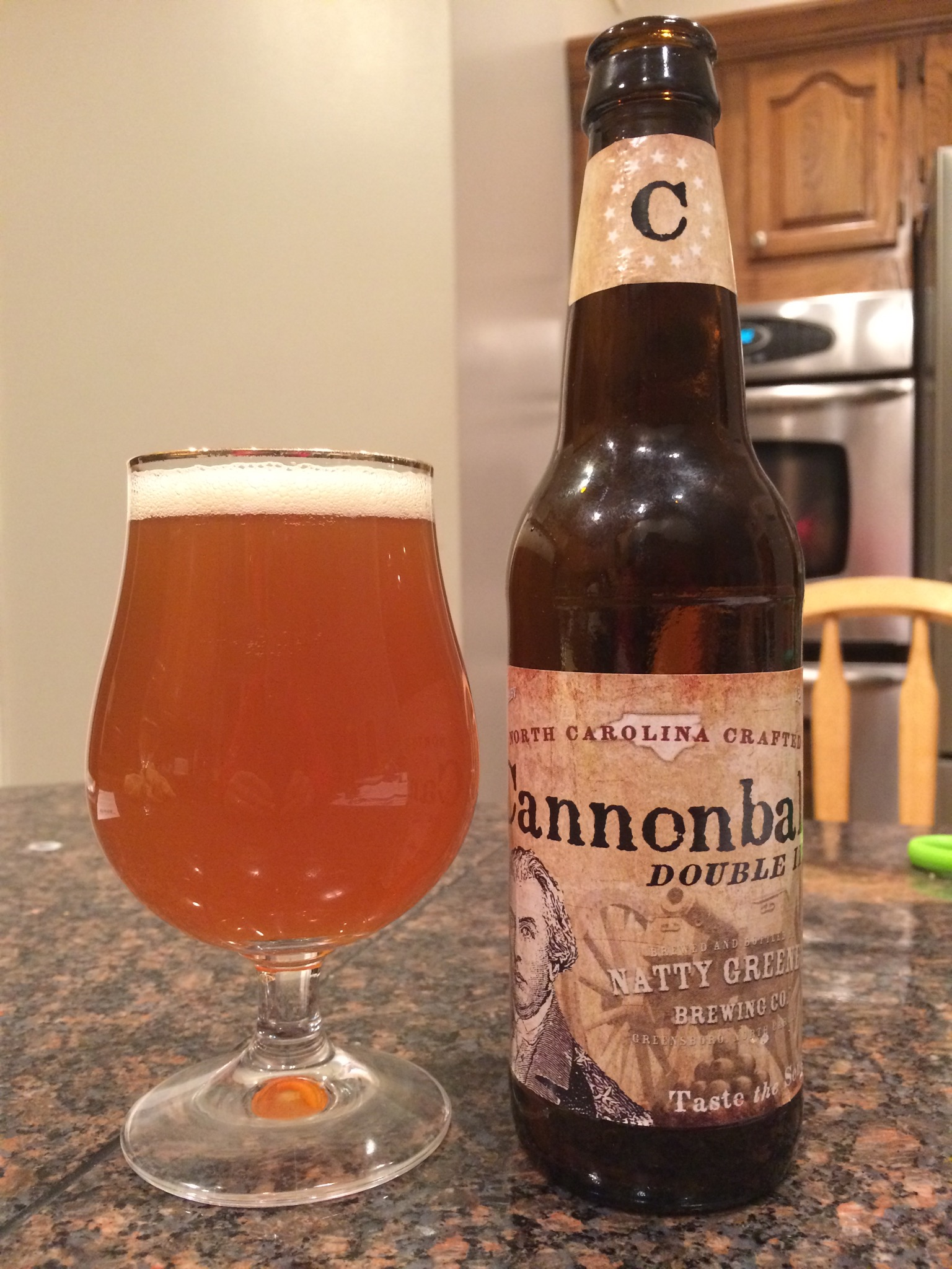748. Natty Greene's Brewing Co. – Cannonball Double IPA