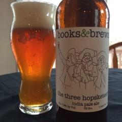 758.  Books & Brews – The Three Hopsketeers IPA