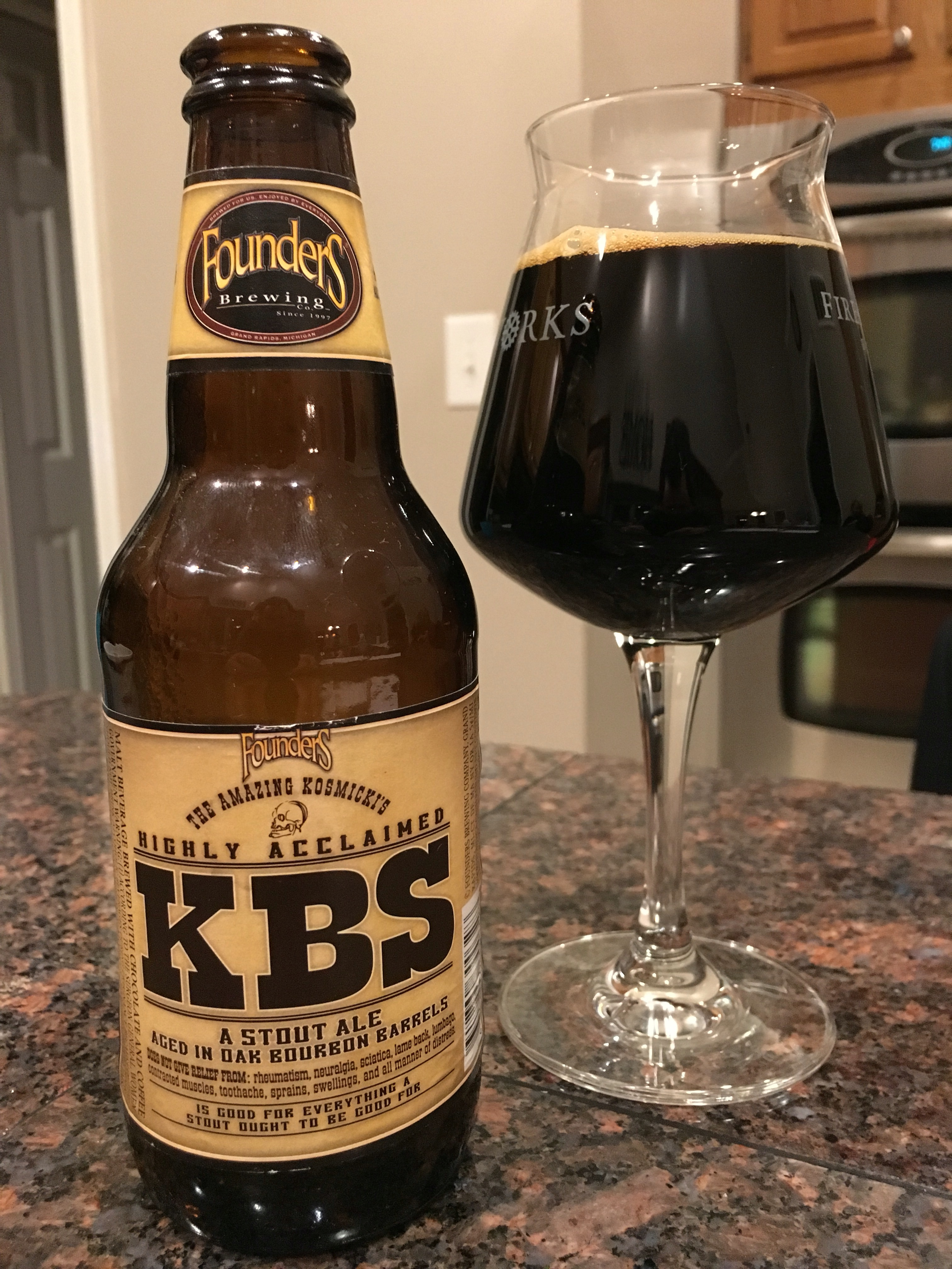 800. Founders Brewing - Kentucky Breakfast Stout 2009 KBS