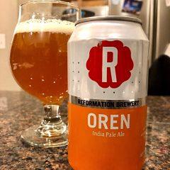 898. Reformation Brewery – Oren IPA