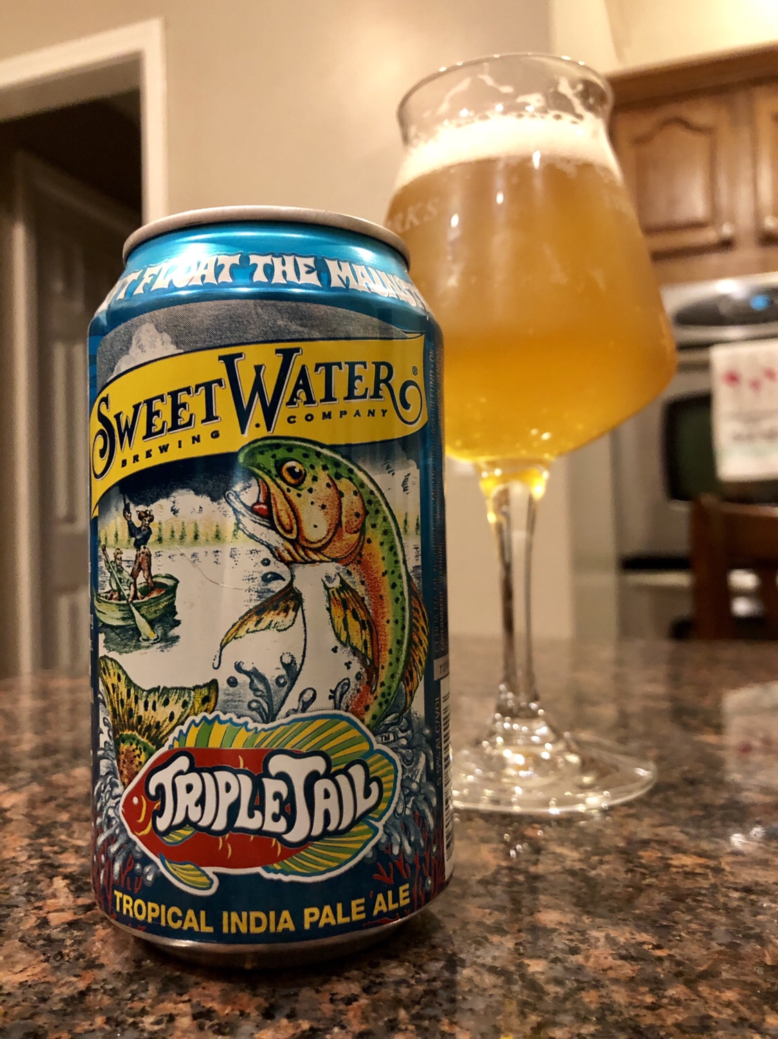906. SweetWater Brewing - Triple Tail Tropical IPA