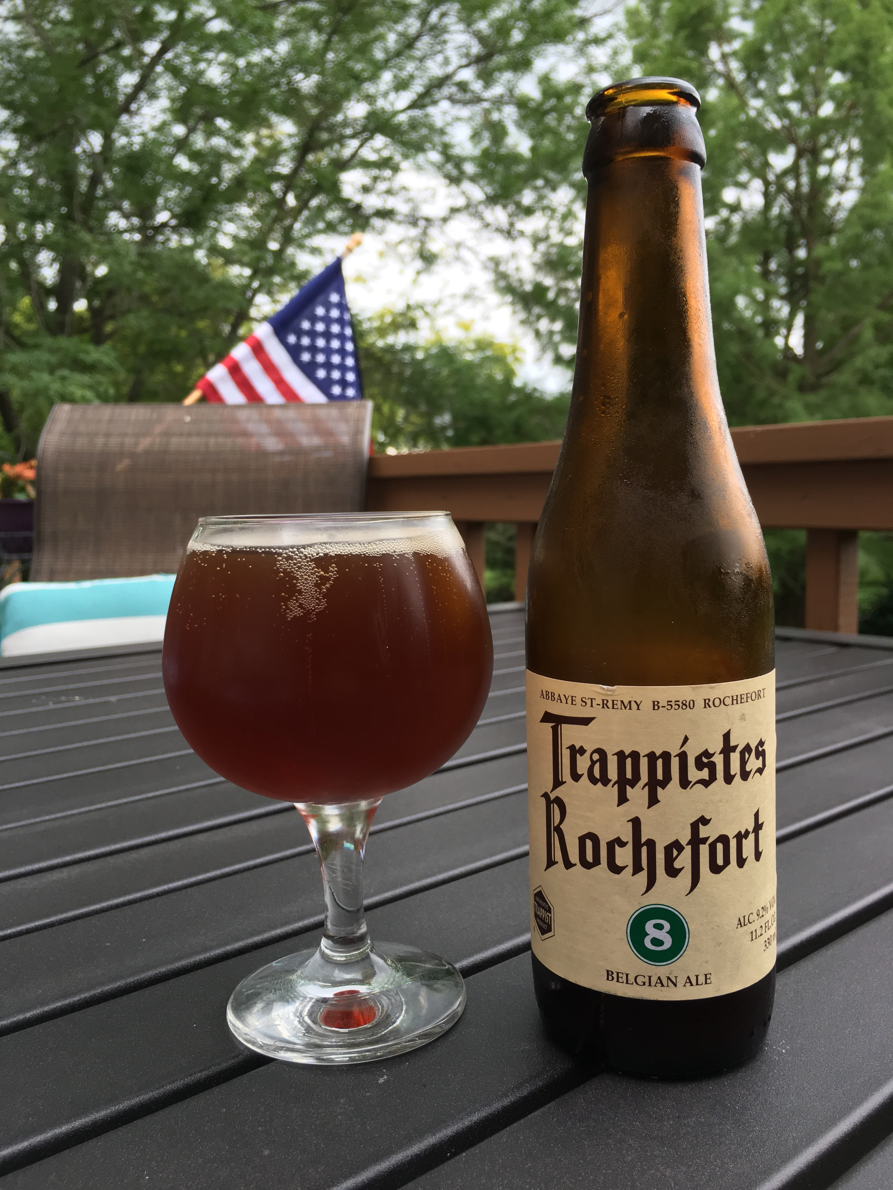 812. Trappistes Rochefort - 8 Belgian Ale