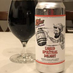 923. 2nd Shift – Liquid Spiritual Delight with Maple Aged in Whisky Barrels