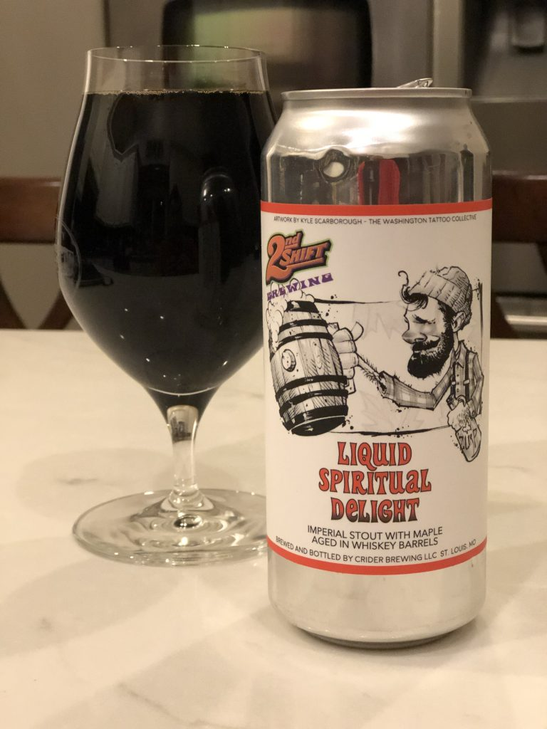 2nd Shift - Liquid Spiritual Delight with Maple Aged in Whisky Barrels