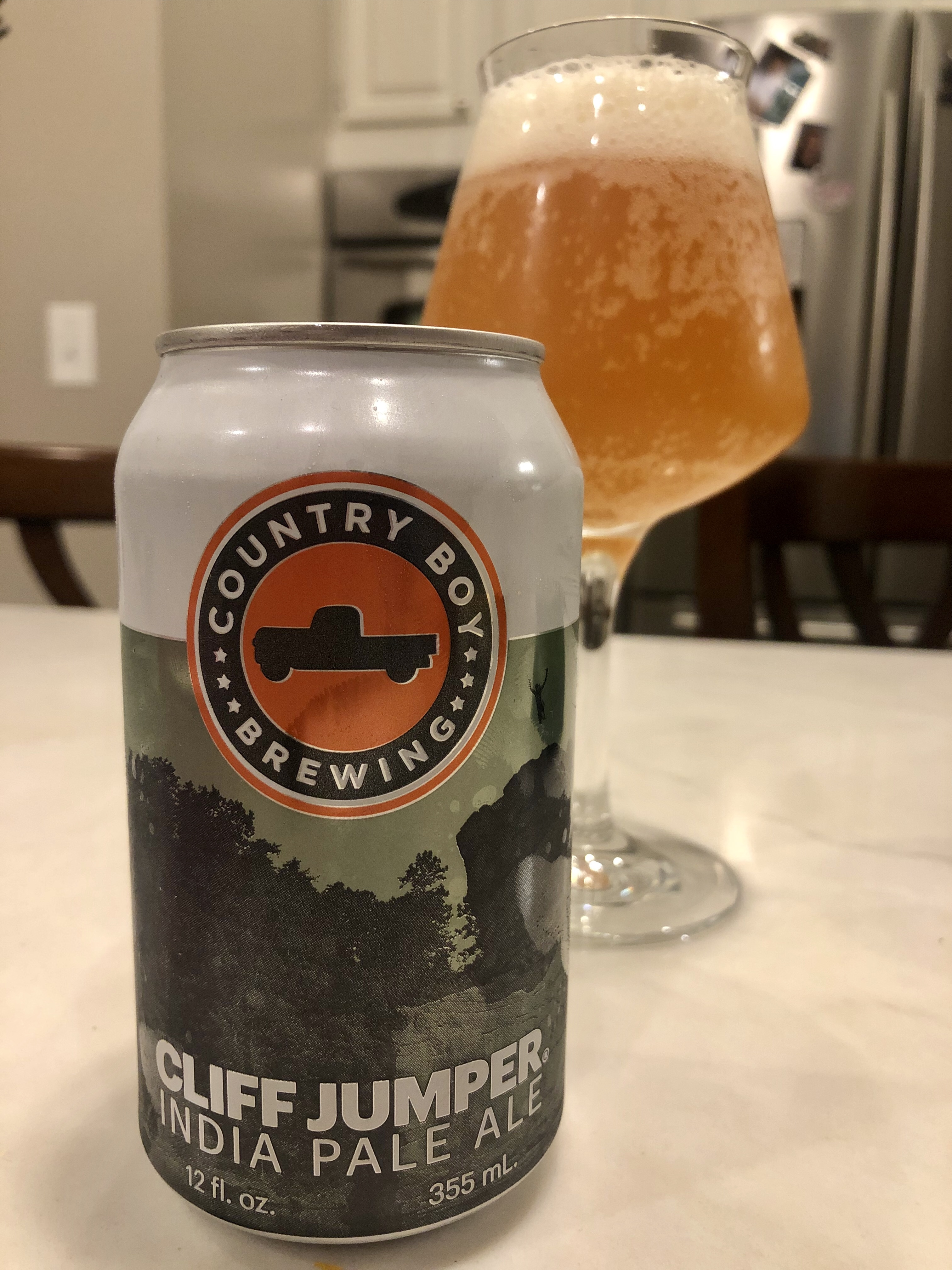 931. Country Boy Brewing - Cliff Jumper IPA