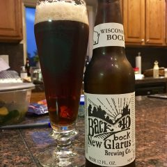 829. New Glarus Brewing – Back 40 Bock