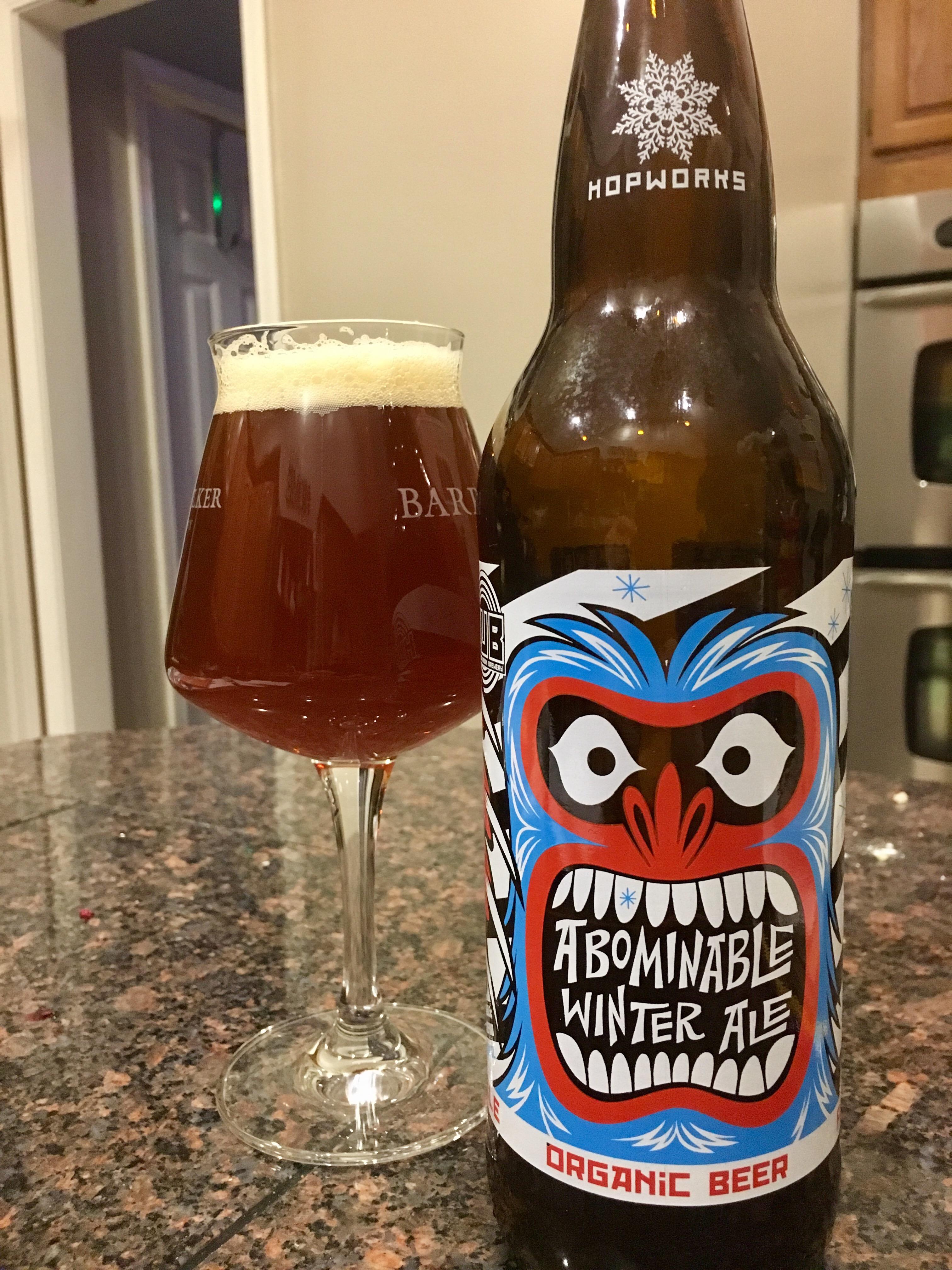 831. Hopworks Urban Brewery (HUB) - Abominable Winter Ale