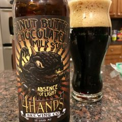 833. 4 Hands Brewing – Peanut Butter Chocolate Milk Stout